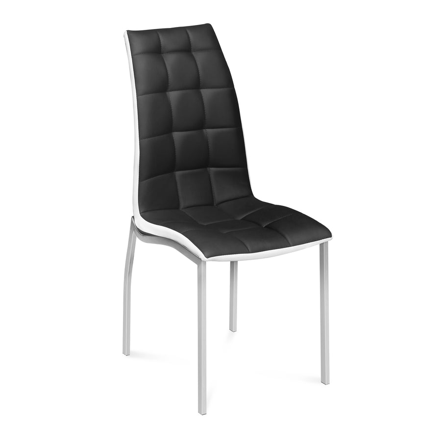 Fortica Dining Chair (Black &White)