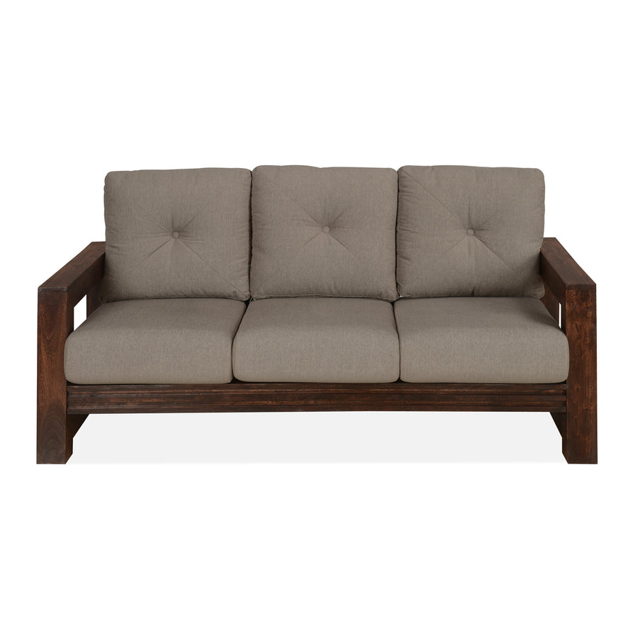 Frida Three Seater Sofa (Cappuccino )