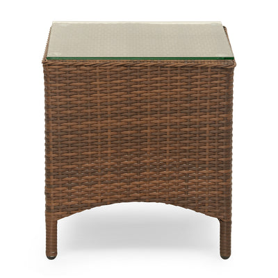 Futura Cane Garden Table (Brown)