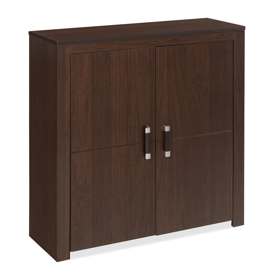 Gage Storage Cabinet (Dark Walnut)