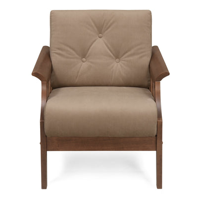 Gia One Seater Sofa (Wenge)