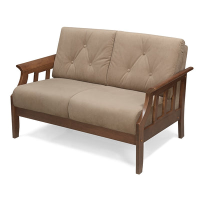 Gia Two Seater Sofa (Wenge)