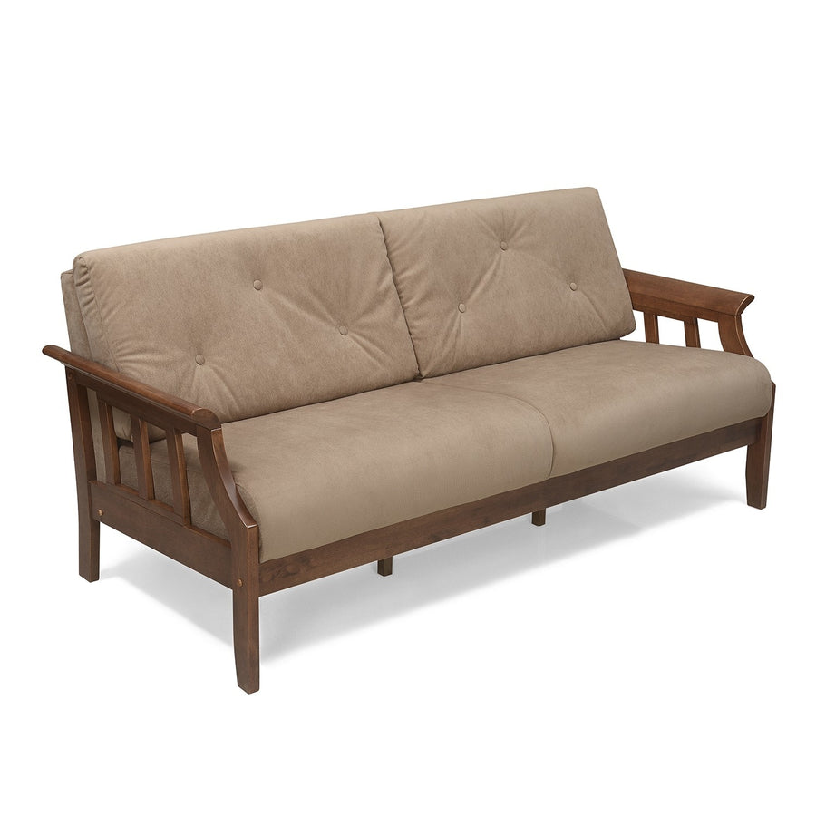 Gia Three Seater Sofa (Wenge)