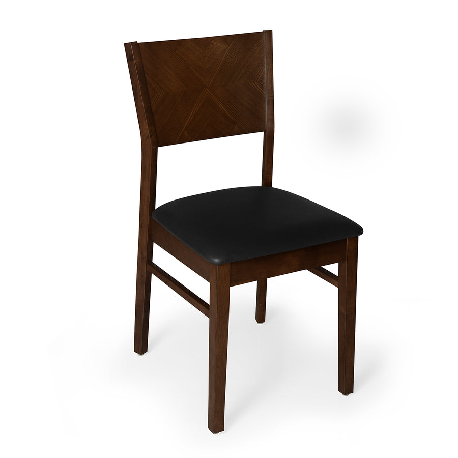 Glaze Dining Chair (Walnut)