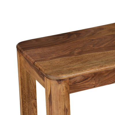 Granada Three Seater Dining Bench (Natural Walnut)