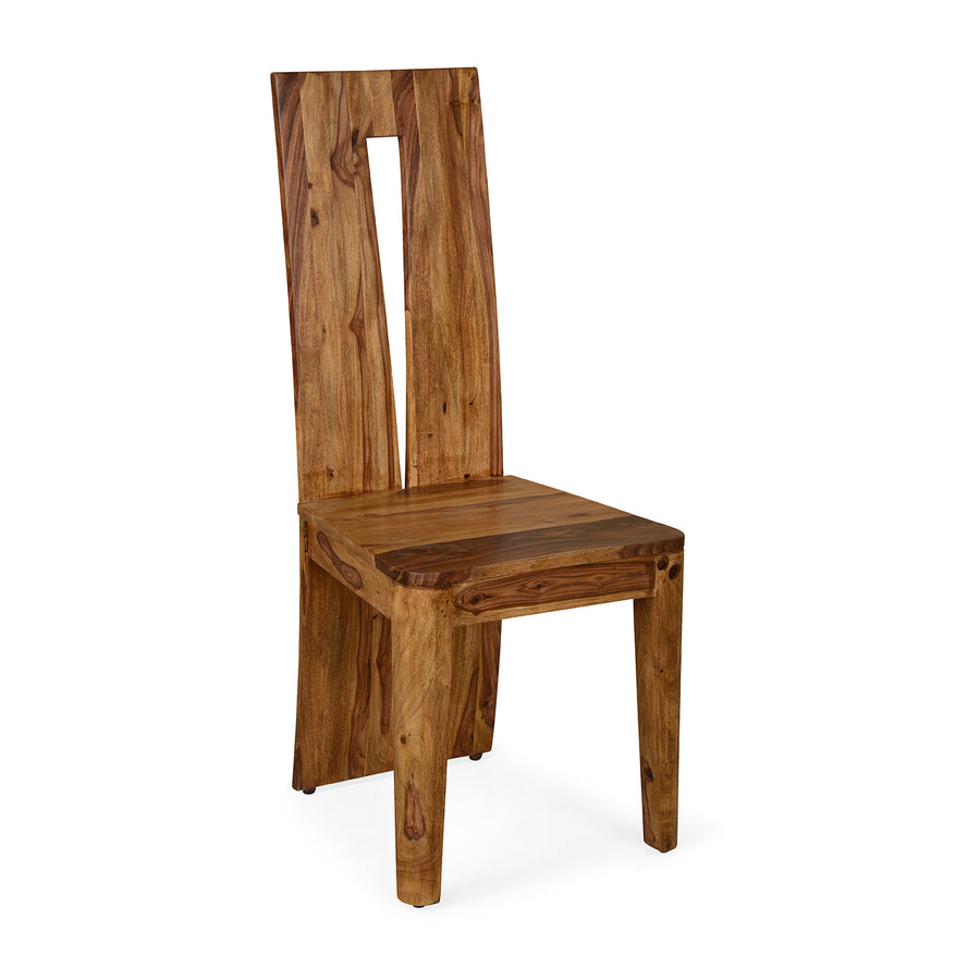 Granada Dining Chair (Natural Walnut)