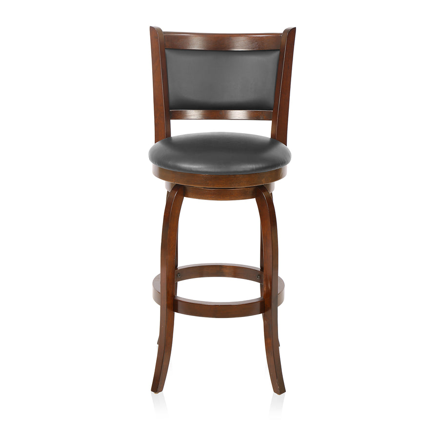 Grant Bar Stool With Swivel (Dark Expresso)
