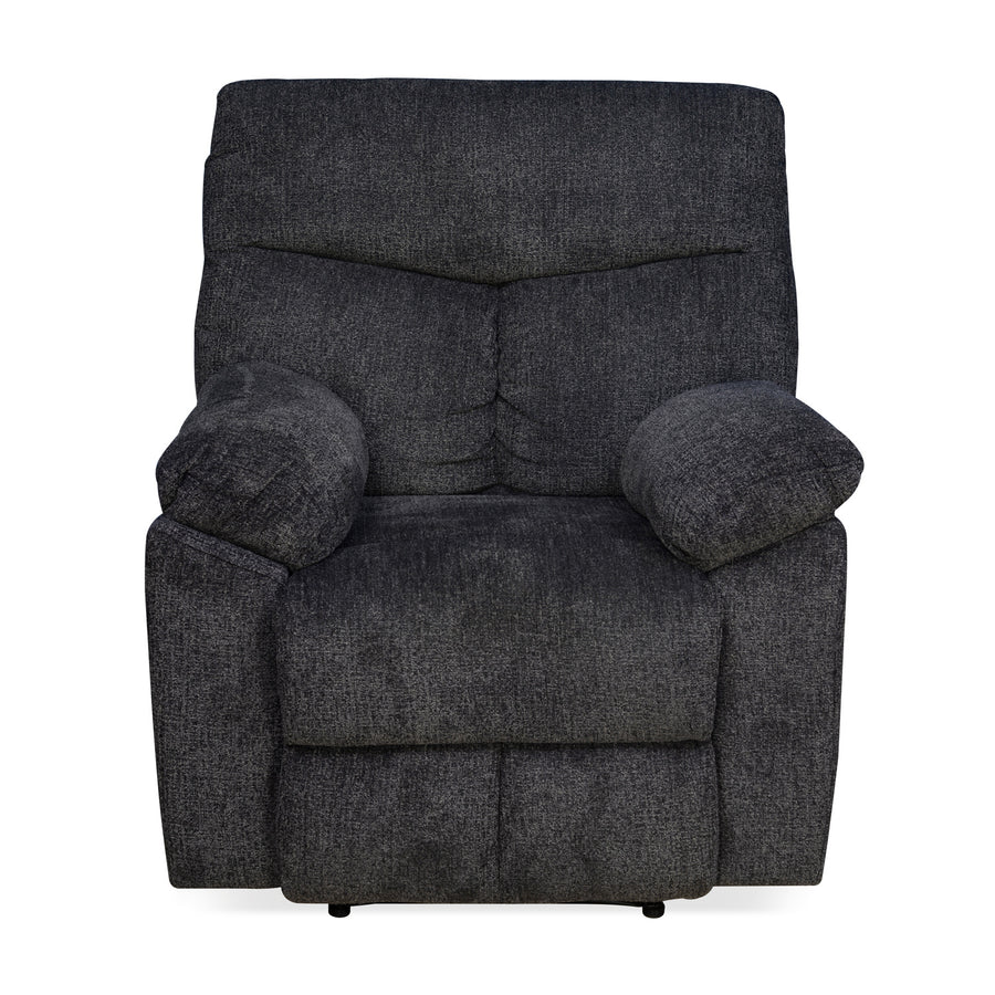 Gravid 1 Seater  Manual Recliner (Charcoal)