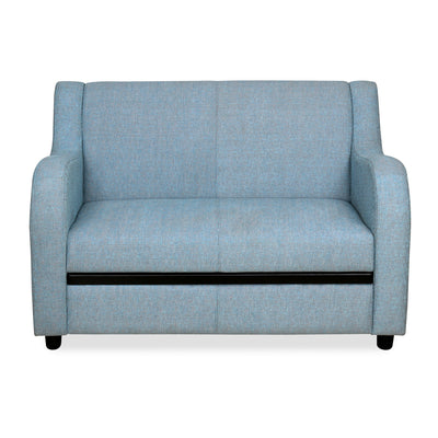Gregory Two Seater Sofa (Sky Blue)