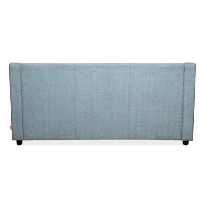 Gregory Three Seater Sofa (Sky Blue)