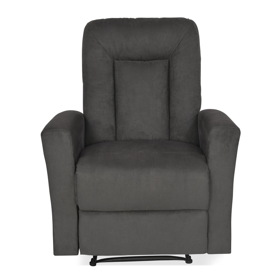 Gretel 1 Seater Sofa With Recliner (Grey)