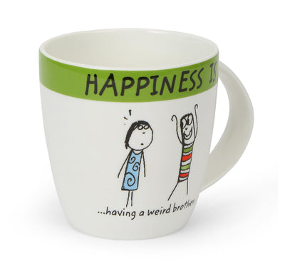 Hap Brother 320 ml Coffee Mug (Green)