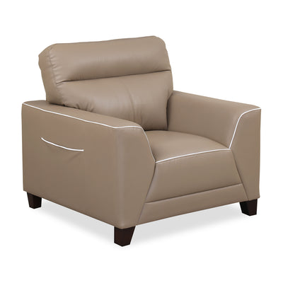 Hayley One Seater Sofa (Mocha Brown)