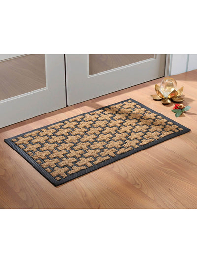 Panama Plus Coir Mould Doormat (Black)