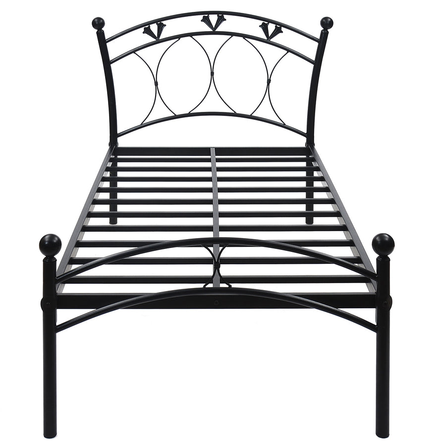 Hydra Single Bed Without Storage (Black)