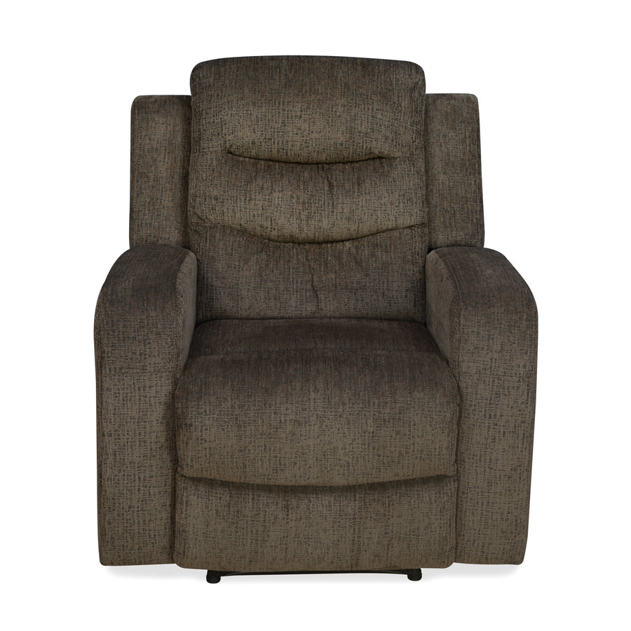 Jackal 1 Seater Manual Recliner (Brown)