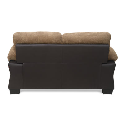 Jasmine Two Seater Sofa (Tawny Brown)