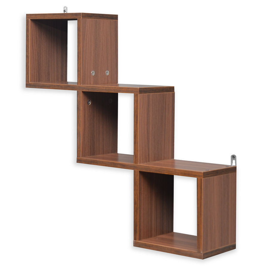 Jazz American Wall Shelf (Walnut)