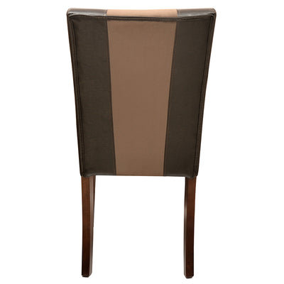 Jenn Dining Chair With Cushion (Walnut)