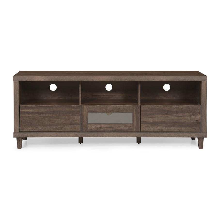 Jett Low Height Wall Unit (Brown)