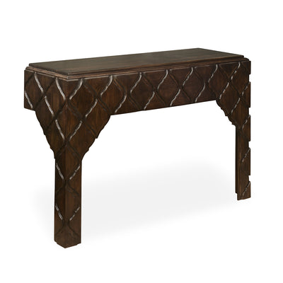 Jharokha Console Table (Espresso)