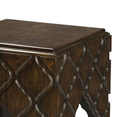 Jharokha Side Table (Espresso)