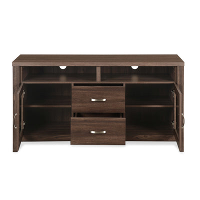 Jonas Low Height Wall Unit (Coffee)