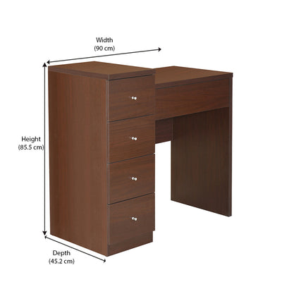 Jone Study Table (Brown)