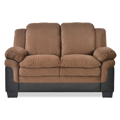 Jude Two Seater Sofa (Brown)