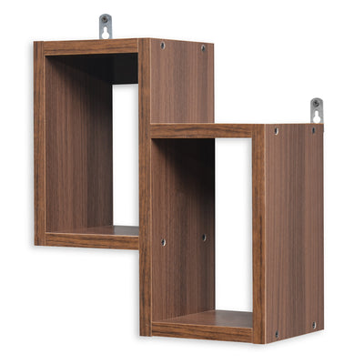 Juno American Wall Shelf (Walnut)