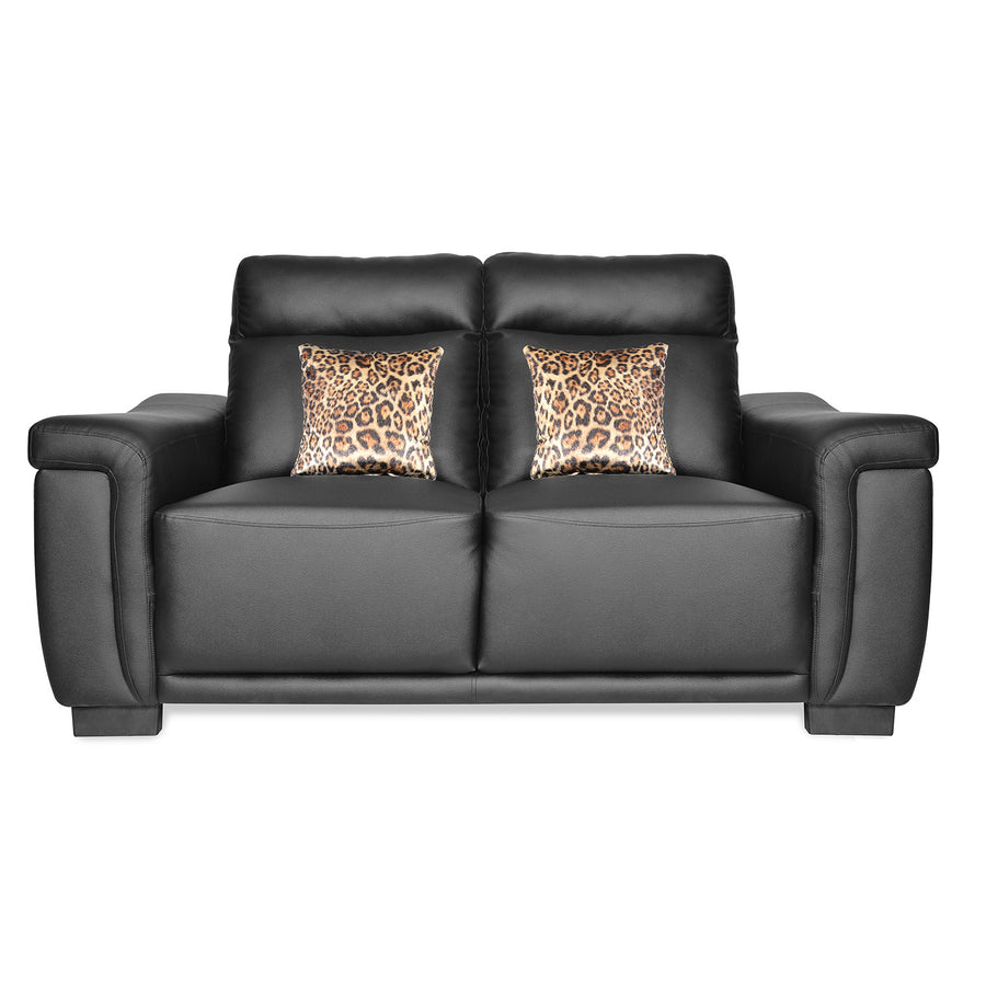 Karen Two Seater Sofa (Black)