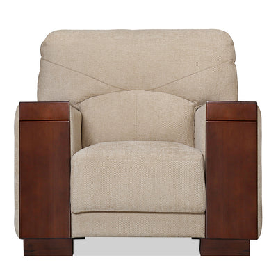 Laos One Seater Sofa (Beige)