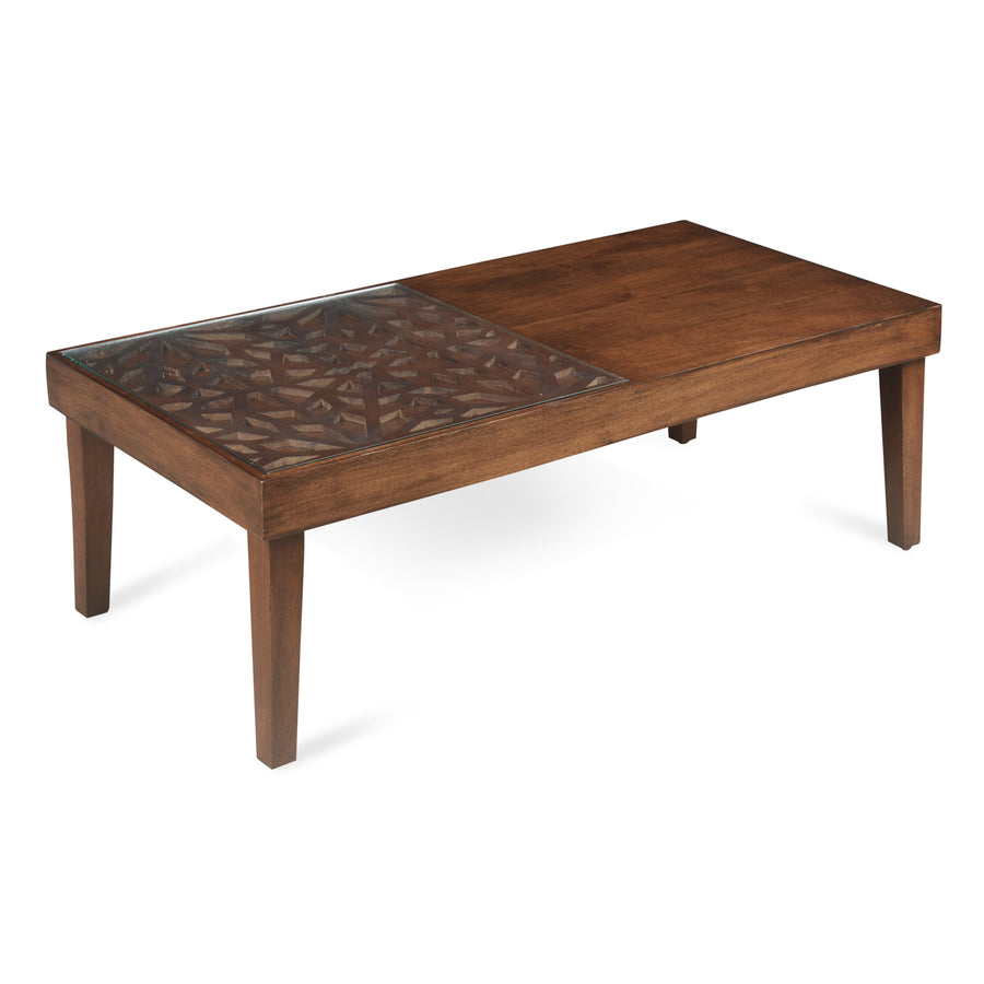Lattice Center Table (Cherry)
