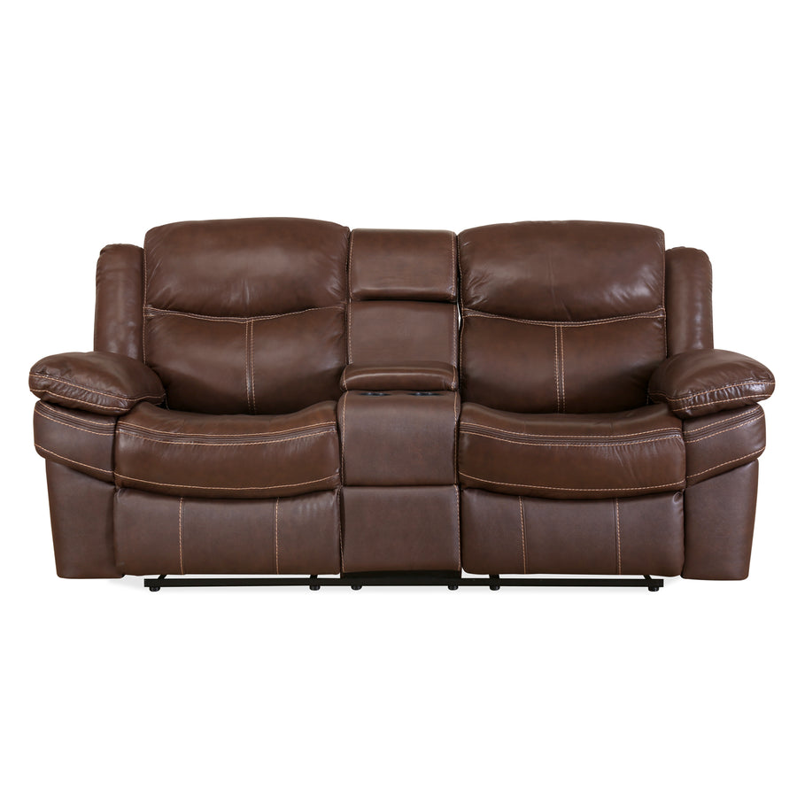 Lexus Two Seater Sofa (Mocha Chocolate)