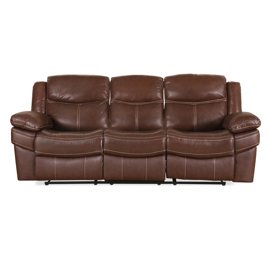 Lexus Three Seater Sofa  (Mocha Chocolate)