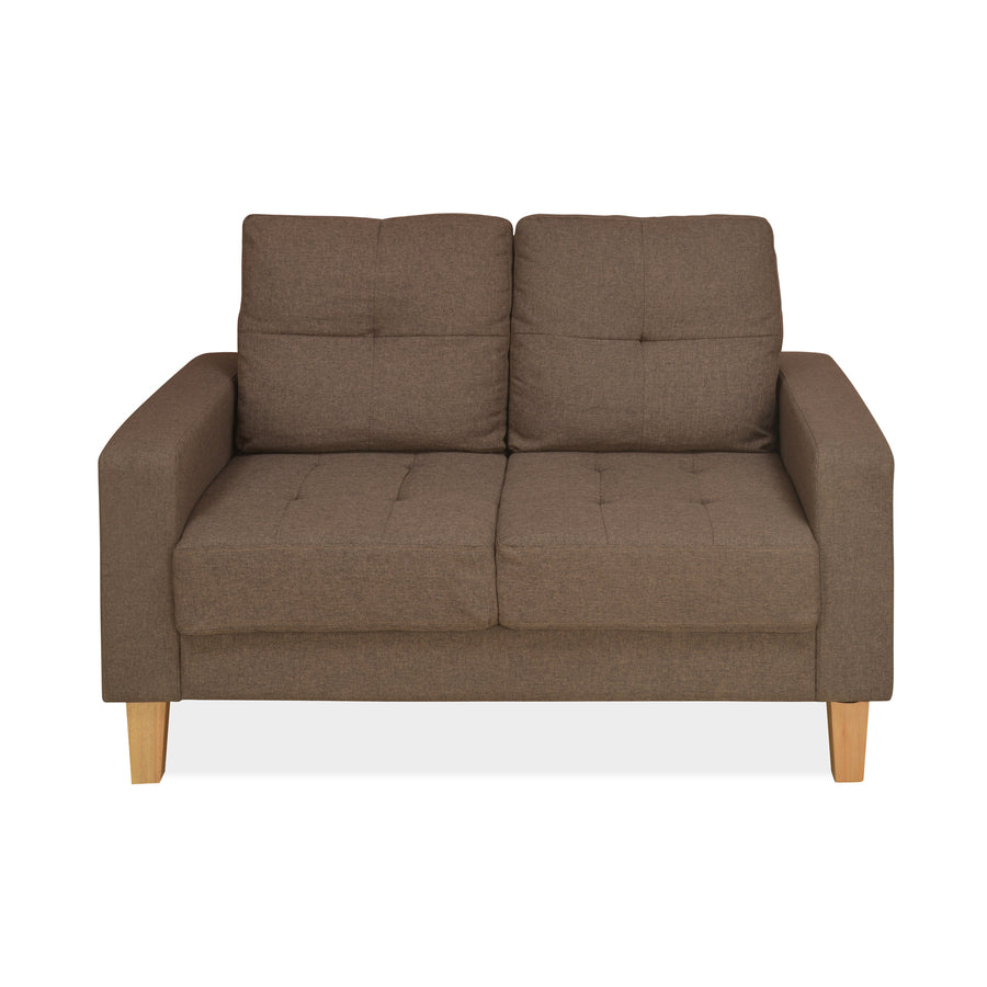 Liliana 2 Seater Sofa (Brown)