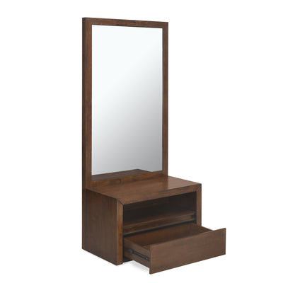 Lincoln Dresser With Mirror (Walnut)