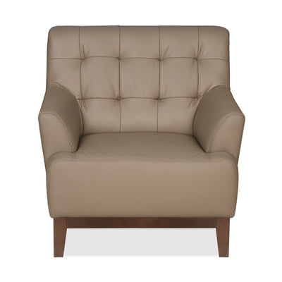 Lisbon One Seater Sofa (Light Brown)