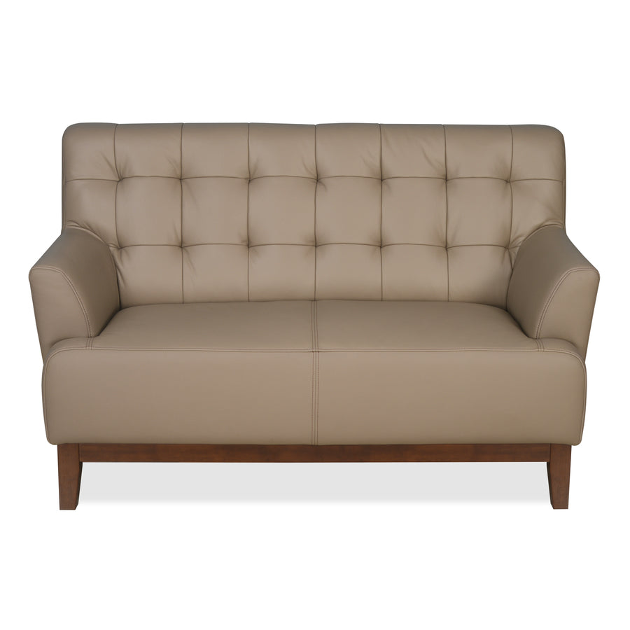 Lisbon Two Seater Sofa (Light Brown)