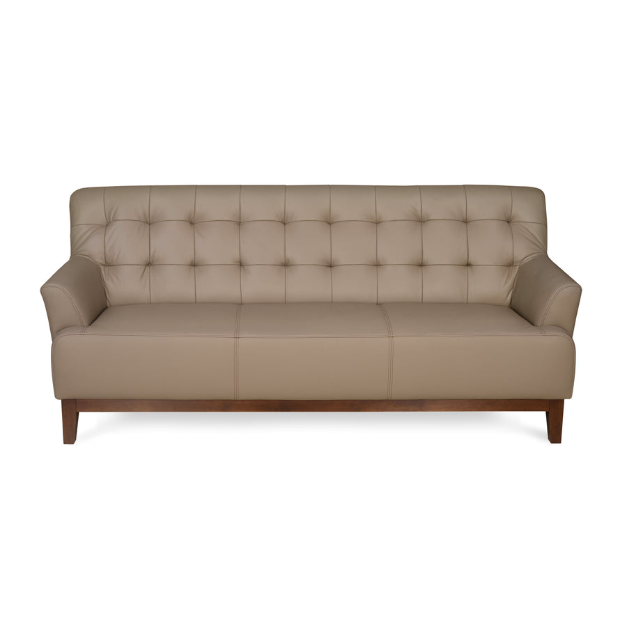 Lisbon Three Seater Sofa (Light Brown)