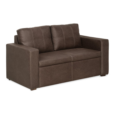 Lucy Two Seater Sofa (Warm Mocha)