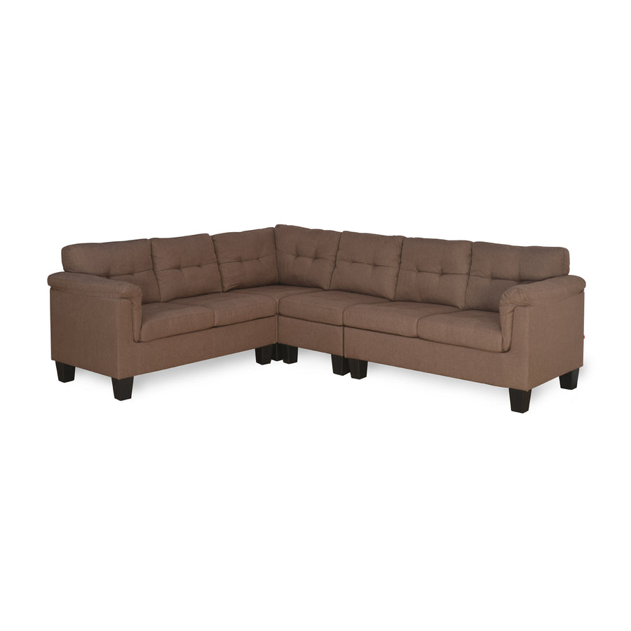 Malabar Corner Sofa (Brown)