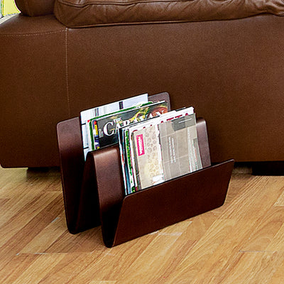 Marco Magazine Rack (Walnut)
