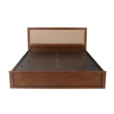 Marmarox Queen Bed With Storage (Tobacco)