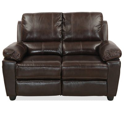 Marshall Two Seater Sofa (Russet Brown)