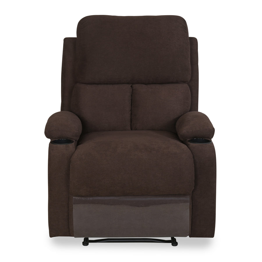 Matt One Seater Sofa (Chocolate)