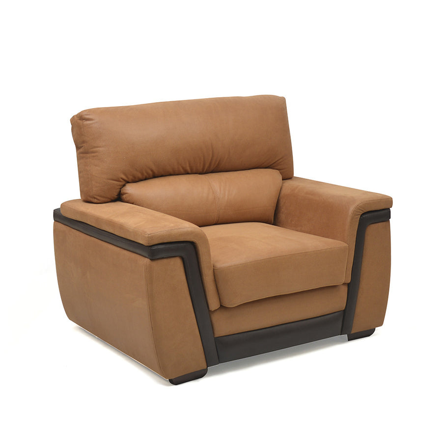 Maxwell One Seater Sofa (Brown)