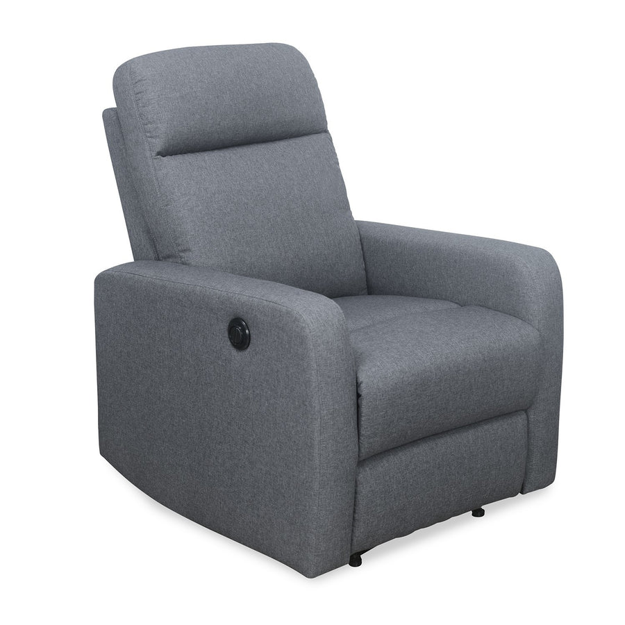 Mayfair 1 Seater Recliner (Slate)