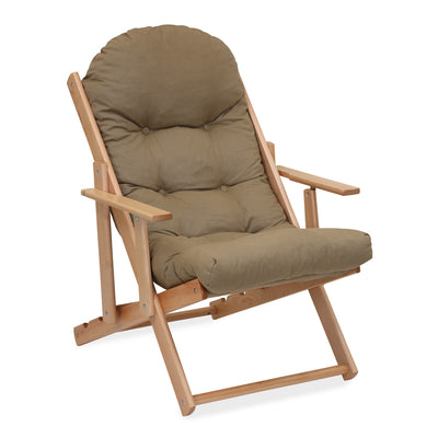 Mazda Adjustable Arm Chair (Brown)