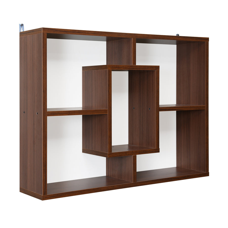 Megan Wall Shelf (Walnut)